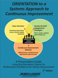 Image of Orientation to Performance Excellence Cover