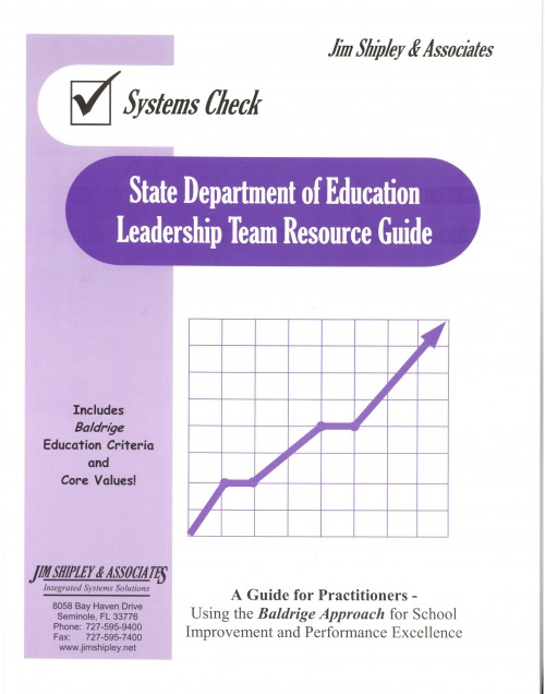 RGDOE - State Department of Education Leadership Team Resource Guide Cover Image